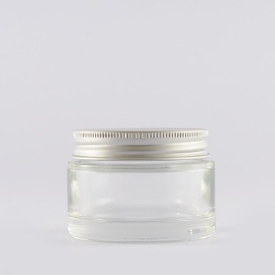 Γυάλινο Βάζο αλουμινένιο πώμα 50 ml