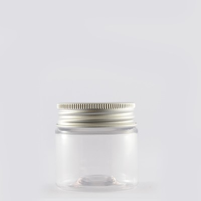 Βάζο Pet 50ml Aluminium Lid