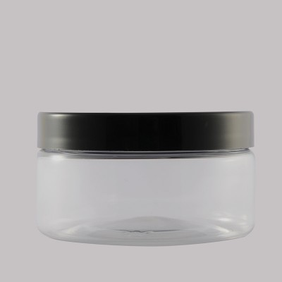 Βάζο Pet 100ml Black Plastic Lid