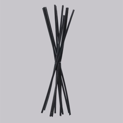 Rattan Stick Μαύρο για Αρωματιστή Χώρου 25cm - 10 τεμ