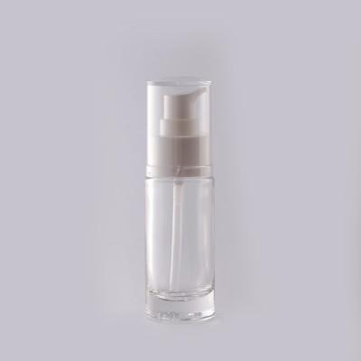 Γυάλινη Φιάλη 30ml Αντλία Serum LUX