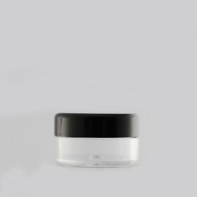 Βάζο πλαστικό Μαύρο Καπάκι 5ml