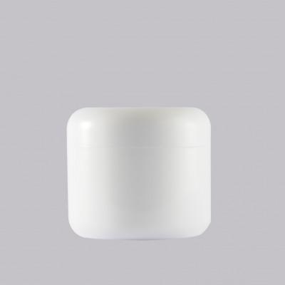 Βάζο Πλαστικό Διπλότοιχο Λευκό 50ml
