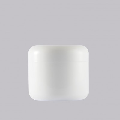 Βάζο Πλαστικό Διπλότοιχο Λευκό 30ml