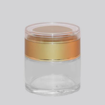 Γυάλινο Βάζο 50ml Lux GOLD