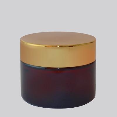 Βάζο Καραμελέ Με Χρυσό Πώμα  50ml