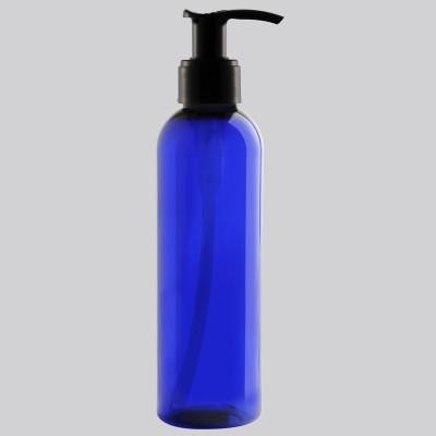 Boston Tall Φιάλη Πλαστική COBALT/ Μαύρη Αντλία Dispenser 200ml