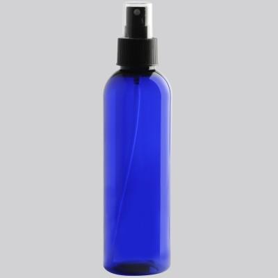 Boston Tall φιάλη Cobalt Μαύρη Αντλία Spray Mist  200ml