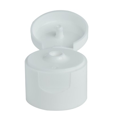 Πώμα Flip Top Λευκό για 50ml και 100ml Boston Tall Μπουκάλια