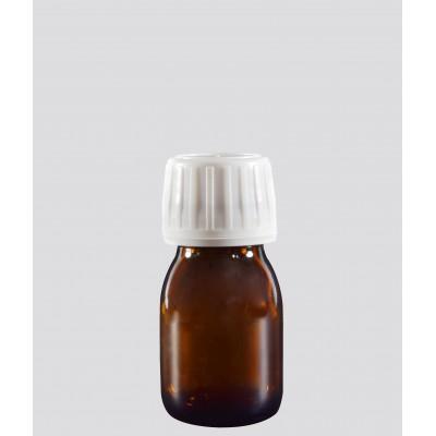 Φαρμακευτική Φιάλη Γυάλινη Καραμελέ 30ml
