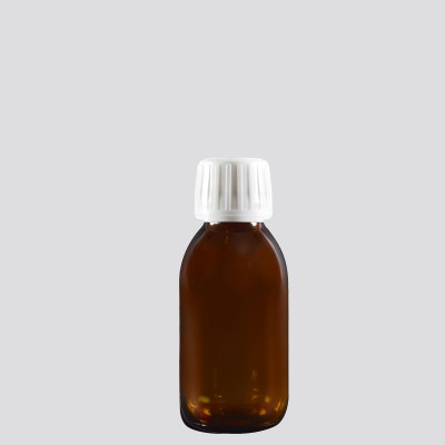 Φαρμακευτική Φιάλη Γυάλινη Καραμελέ 100ml
