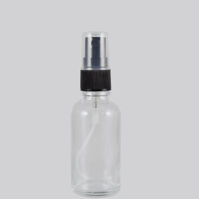 Γυάλινη Φιάλη Διάφανη DIN 18 Spray Mist 30ml