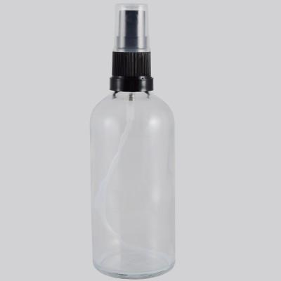 Γυάλινη Φιάλη Διάφανη DIN 18 Spray Mist 100ml