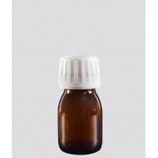 Γυάλινη Φαρμακευτική Φιάλη Καραμελε 30ml