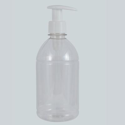 PET Tall Φιάλη Πλαστική Διάφανη / Αντλία Dispenser Ηi Flow 500ml