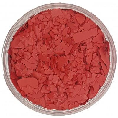 Χρώμα Κεριού Νιφάδα Κόκκινο Φωτιάς20γρ